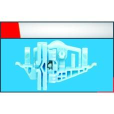 Doblo Cam Kriko Plastiği Ön - Arka Sağ 2011