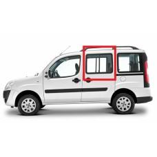 Fiat Doblo I 2001 - 2009 Arası Orta Kapı Yan Sürgülü Cam Sağ Orijinal