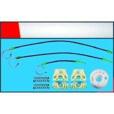 Passat Yeni Model Cam Kriko Teli Ön Sağ Set